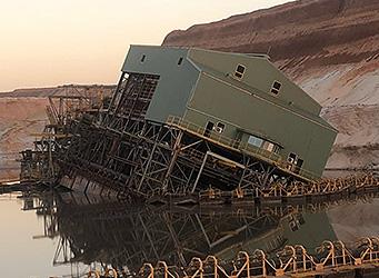 sand mining dredge