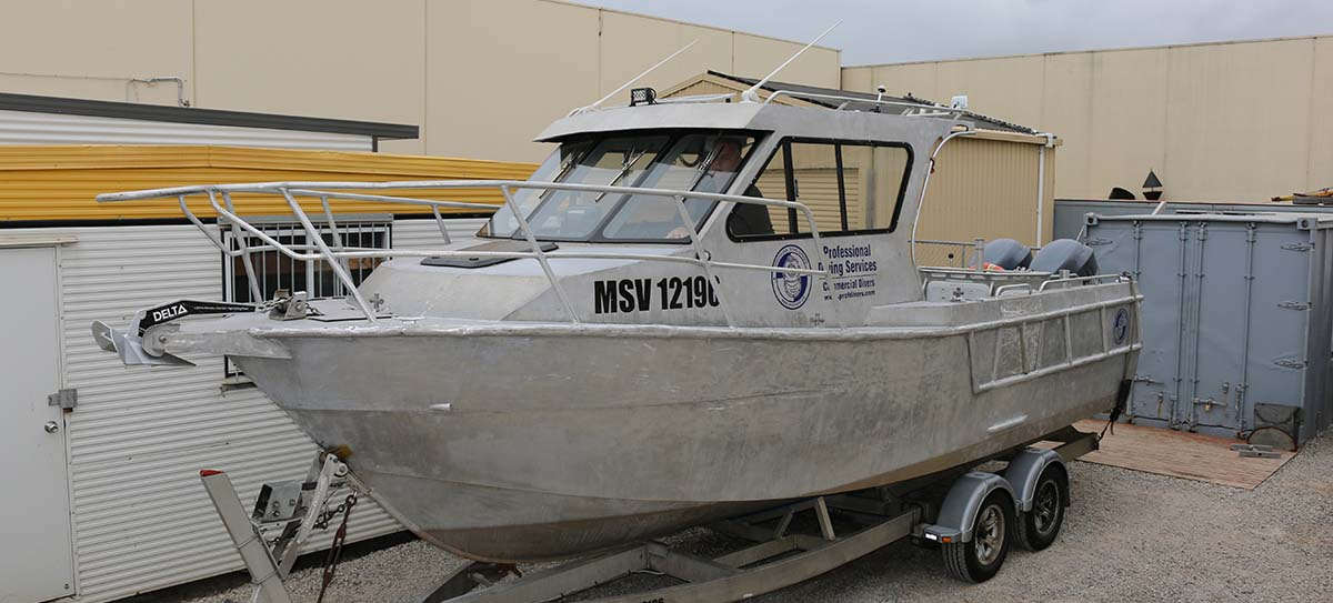 Jazz 1 Dive support vessel for hire