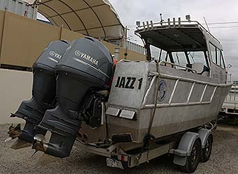 Jazz 1 Outboard engines