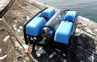 ROV on Jetty