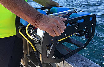 ROV used in survey of Midget Submarine