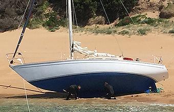 Yacht Salvage Tasmania