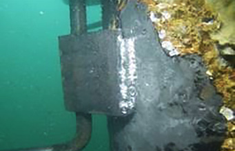 PDS Diver Completed Welding work