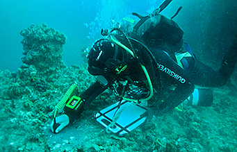 PDS Diver underwater NDT
