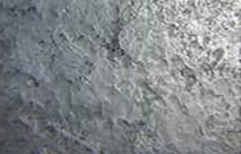Steel pile surface underwater