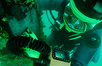 Underwater Non destructive testing