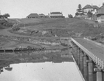 Windsor bridge and hawkesbury river historical photo