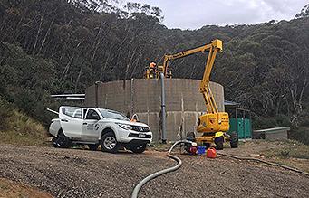 Mount Buller Potable Water Tank Inspection