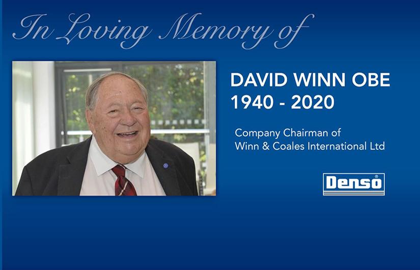 In loving memory of David Winn OBE