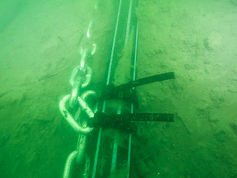 Hobsons Bay diving works