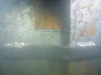 Welded strengthening plates